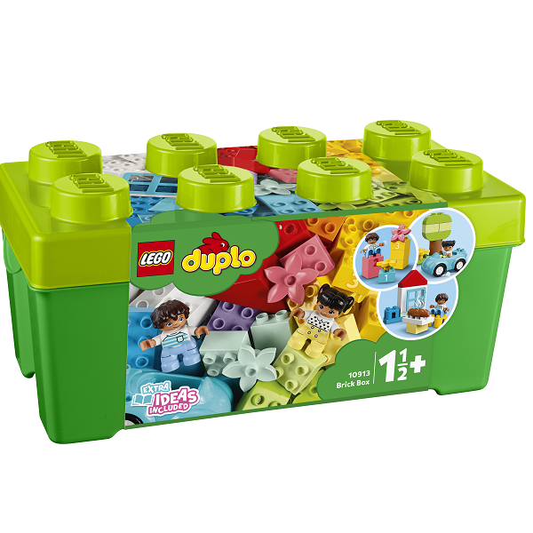 Image of Kasse med klodser - 10913 - DUPLO Bricks & More (10913)