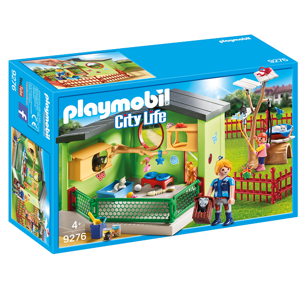 Image of Kattepension - 9276 - PLAYMOBIL City Life (PL9276)