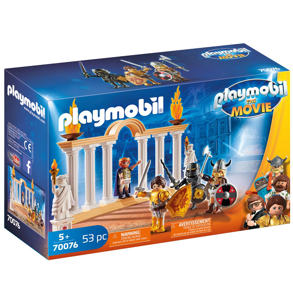Image of Kejser Maximus i Colosseum - PL70076 - PLAYMOBIL The Movie (PL70076)