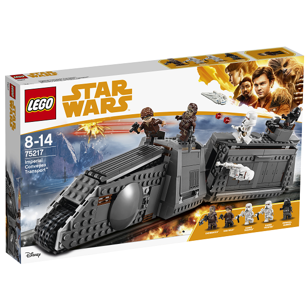 Image of Kejserligt conveyextog - 75217 - LEGO Star Wars (75217)