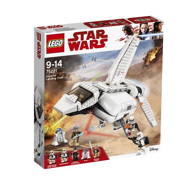 Image of Kejserligt landsætningsfartøj - 75221 - LEGO Star Wars (75221)