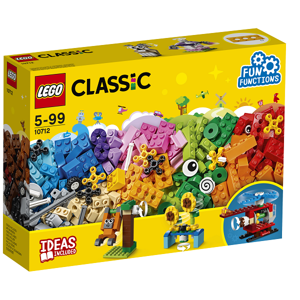 Image of Klodser og tandhjul - 10712 - LEGO Bricks & More (10712)