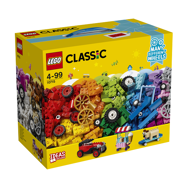 Klodser på hjul - 10715 - LEGO Bricks & More