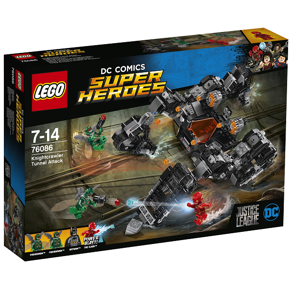 Image of Knightcrawler tunnelangreb - 76086 - LEGO Super Heroes (76086)