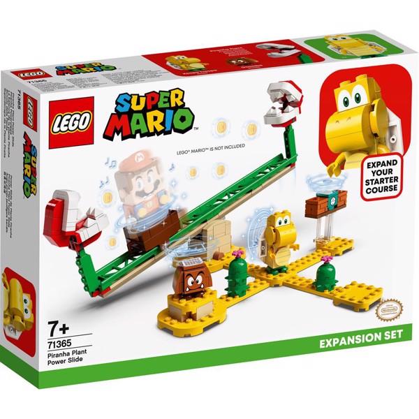 Image of Kødædende planterutsjebane - udvidelsessæt - 71365 - LEGO Super Mario (71365)