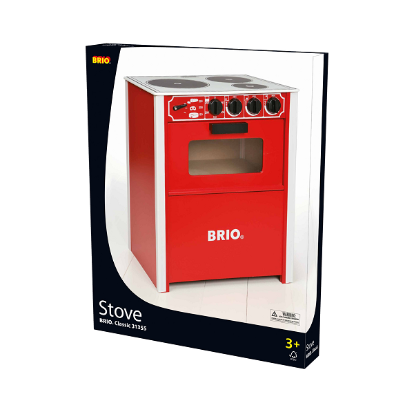 Komfur, rødt - 31355 - BRIO Home