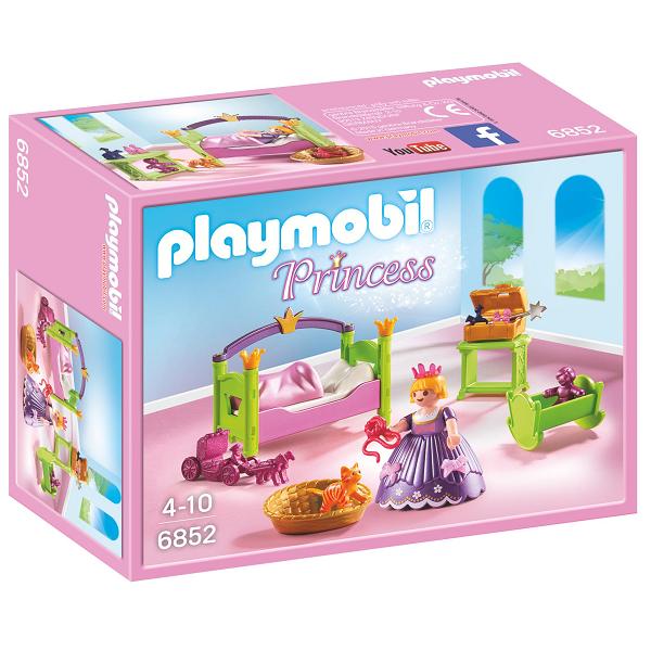 Image of Kongeligt børneværelse - PL6852 - PLAYMOBIL Princess (PL6852)