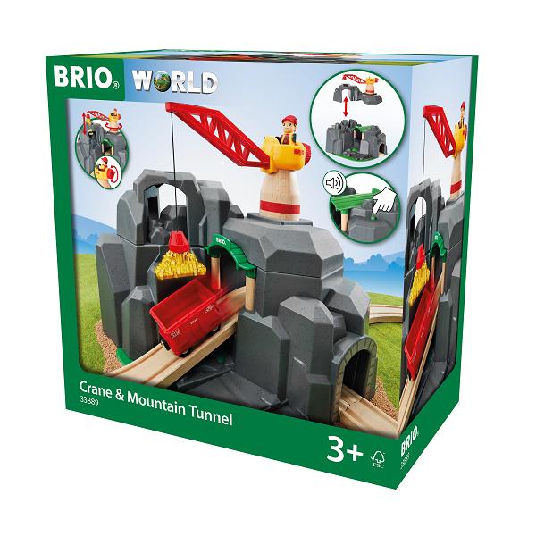 Kran- og bjergtunnel - BRIO