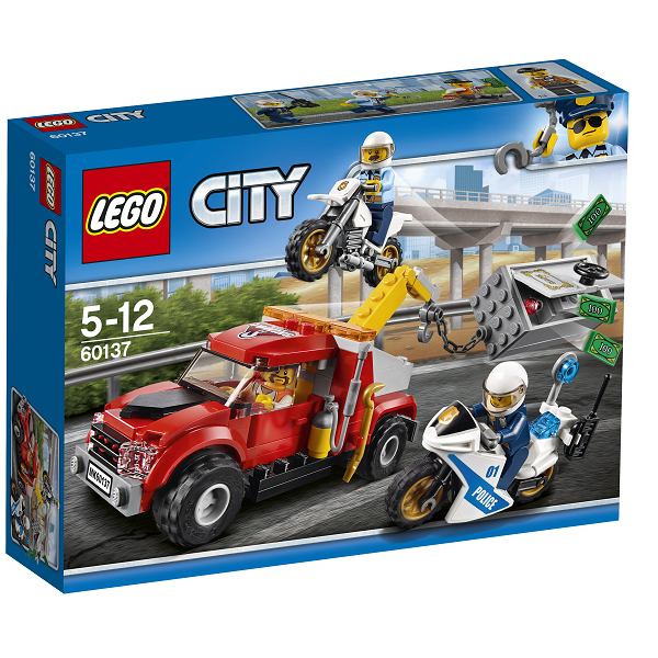 Image of Kranvogn-kaos - 60137 - LEGO City (60137)