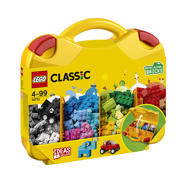 Image of Kreativ kuffert - 10713 - LEGO Bricks & More (10713)