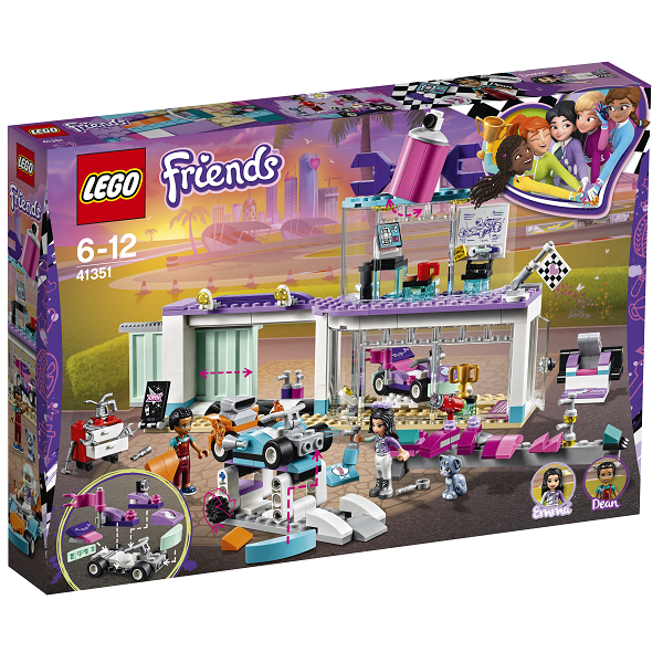 Image of Kreativt motorværksted - 41351 - LEGO Friends (41351)