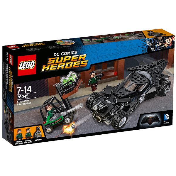 Kryptonit-fangst - 76045 - LEGO Super Heroes