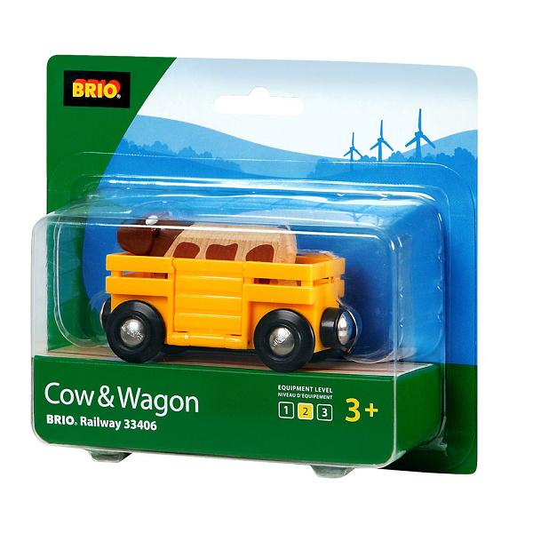 Kvægvogn - 33406 - BRIO Tog