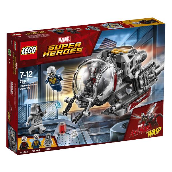 Image of Kvantedimensionens eventyrere - 76109 - LEGO Super Heroes (76109)
