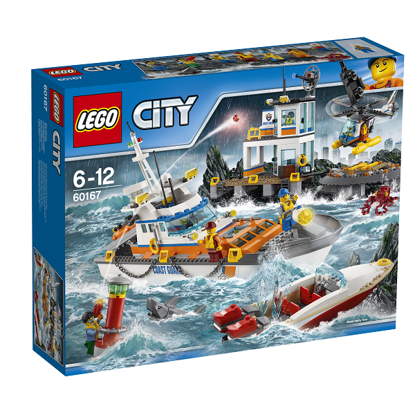 Image of Kystvagtens hovedkvarter - 60167 - LEGO City (60167)