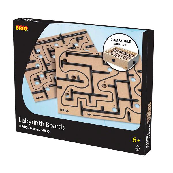 Labyrint plader - 34030 - BRIO