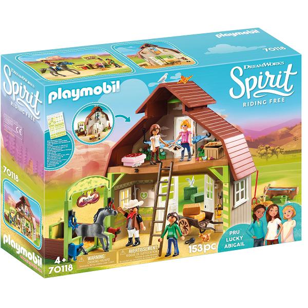 Image of   Lade med Lucky, Pru og Abigail - PL70118 - PLAYMOBIL Spirit