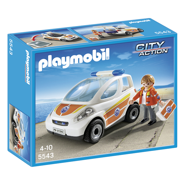 Image of Lægebil - 5543 - PLAYMOBIL City Action (PL5543)