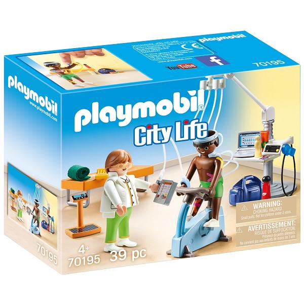Image of   Lægespecialist: Fysioterapeut - PL70195 - PLAYMOBIL City Life