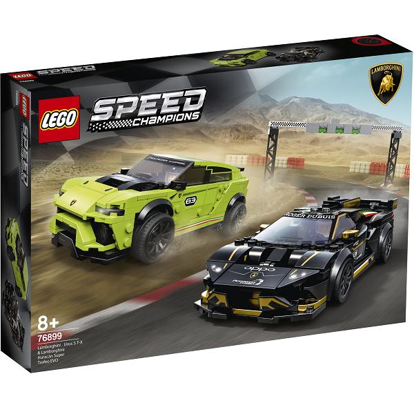 Image of Lamborghini Urus ST-X & Lamborghini Huracán Super Trofeo EVO - 76899 - LEGO Speed Champions (76899)