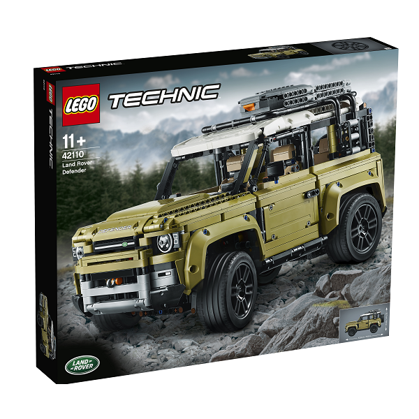 Image of Land Rover Defender - 42110 - LEGO Technic (42110)
