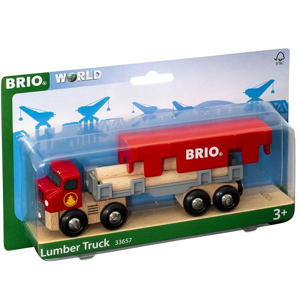 Lastbil med tømmer - 2020 - BRIO