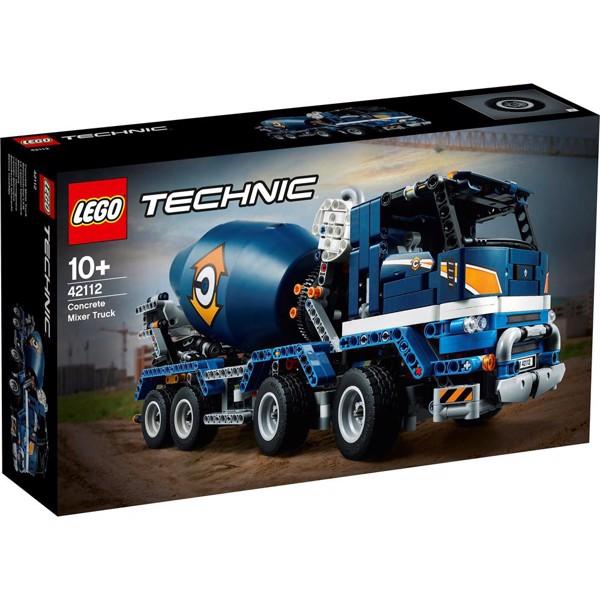 Image of Lastbil med betonblander - 42112 - LEGO Technic (42112)