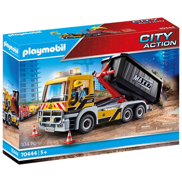 Image of Lastbil med veksellad - PL70444 - PLAYMOBIL City Action (PL70444)