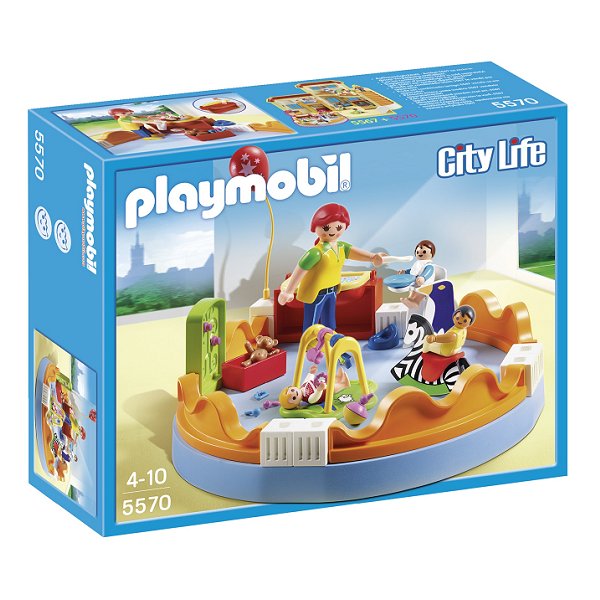 Image of   Legegruppe - 5570- PLAYMOBIL City Life