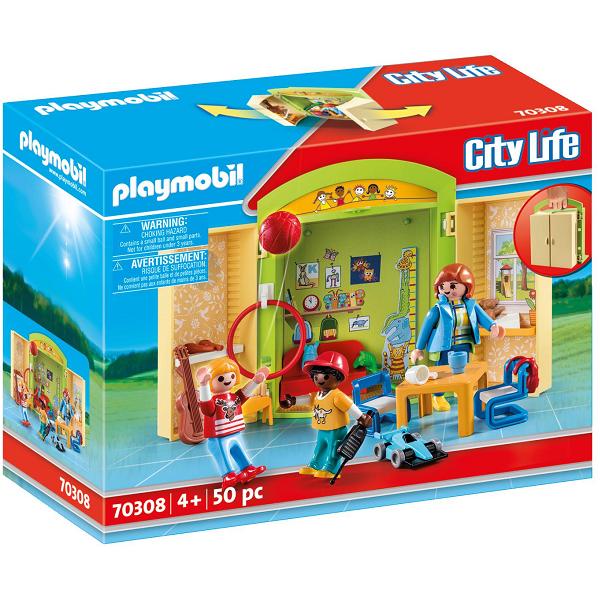 """Image of Legekasse """"I børnehaven"""" - PL70308 - PLAYMOBIL City Life (PL70308)"""