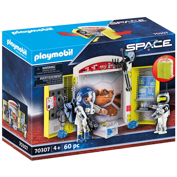 "Image of Legekasse ""På rumstationen"" - PL70307 - PLAYMOBIL Action (PL70307)"