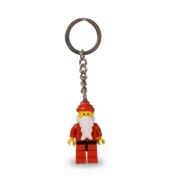 LEGO Nøglering julemand minifigur