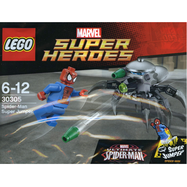Image of LEGO Super Heroes Spider-Man Super Jumper Polybag (30305)