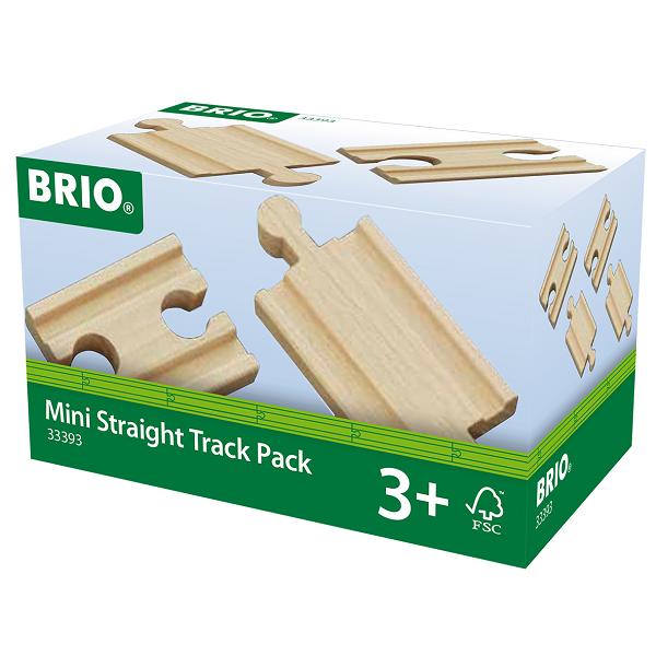 Lige skinner, mini - 33393 - BRIO togskinner