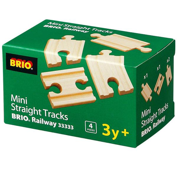 Lige skinner, mini - 33333 - BRIO togskinner
