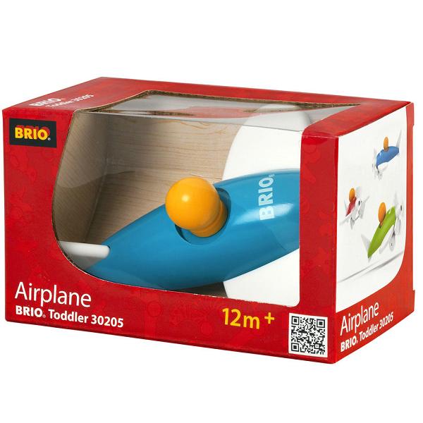 Image of Lille flyvemaskine, assorteret - 30205 - BRIO Toddler (30205)