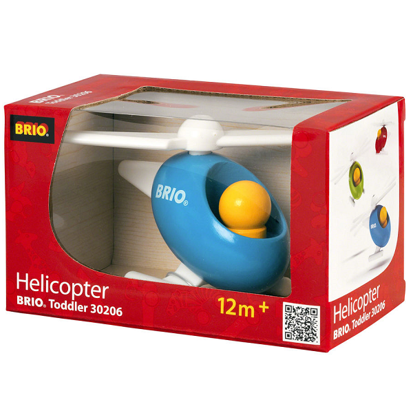 Image of Lille helikopter - 30206 - BRIO Toddler (30206)