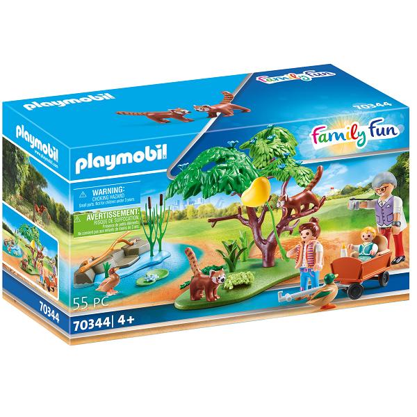 Image of Lille panda i indhegning - PL70344 - PLAYMOBIL Family Fun (PL70344)