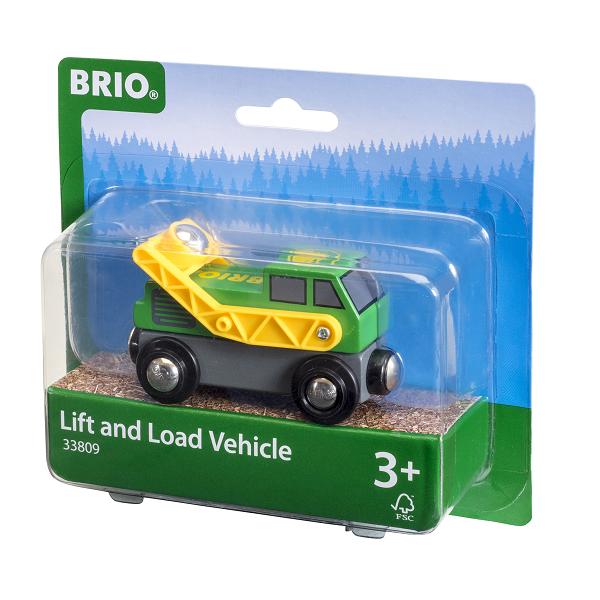 Løfte- og læsse køretøj - 33809 - BRIO