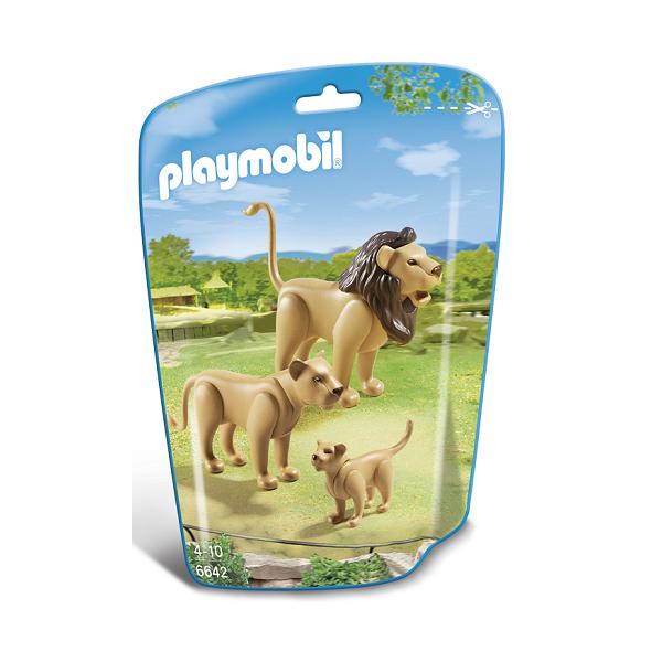 Image of Løvefamilie - PL6642 - PLAYMOBIL Wild Life (PL6642)