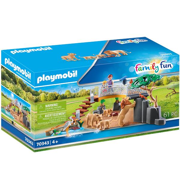 Image of Løver i indhegning - PL70343 - PLAYMOBIL Family Fun (PL70343)