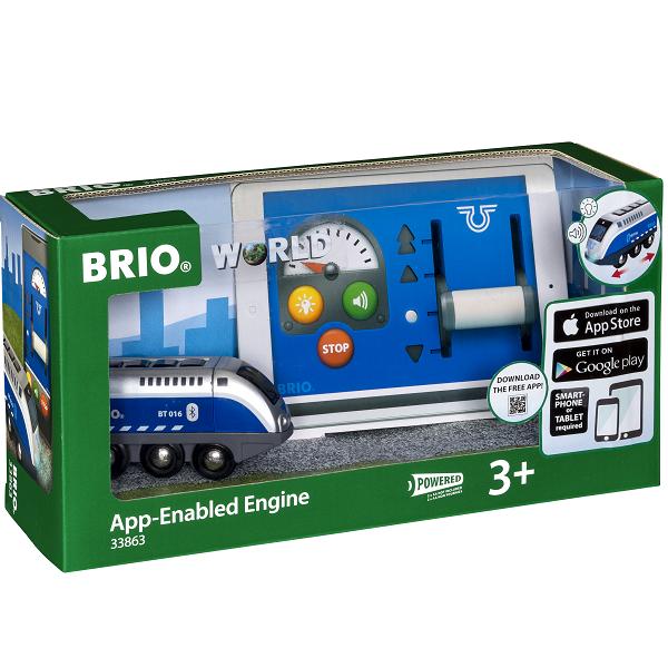 Lokomotiv med APP-styring - 33863 - BRIO