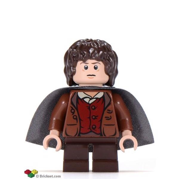 Frodo Baggins - mørk gråblå kappe