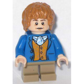 Image of   Bilbo Baggins - Blå jakke - LEGO® Lord of the Rings