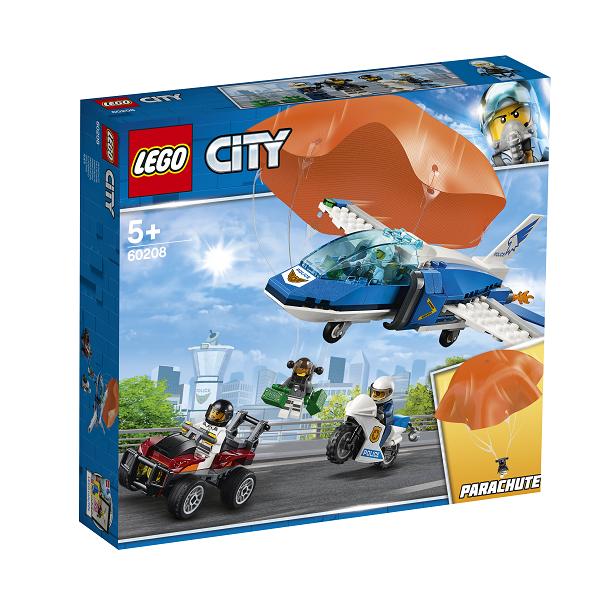 Image of Luftpolitiets faldskærmsanholdelse - 60208 - LEGO City (60208)