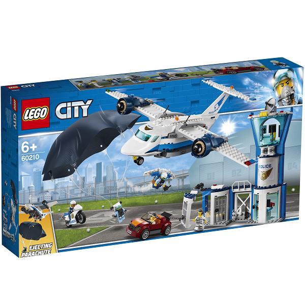 Image of Luftpolitiets luftbase - 60210 - LEGO City (60210)