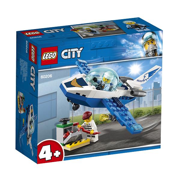 Image of Luftpolitiets patrulje-jetfly - 60206 - LEGO City (60206)