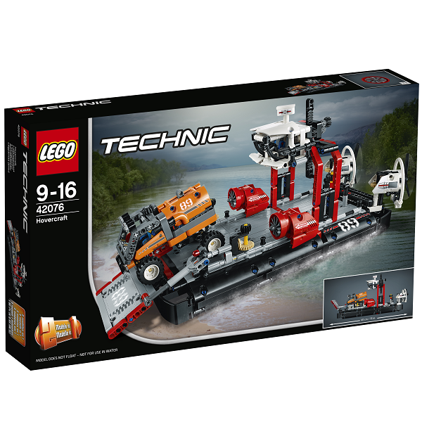 Luftpudefartøj - 42076 - LEGO Technic