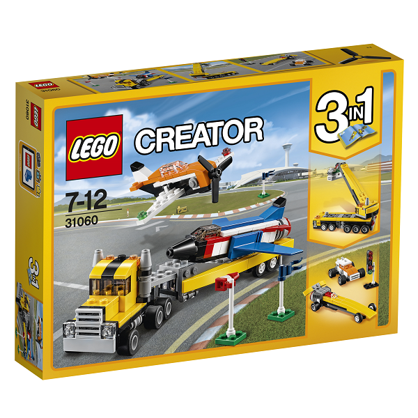 Image of Luftshowets superfly - 31060 - LEGO Creator (31060)