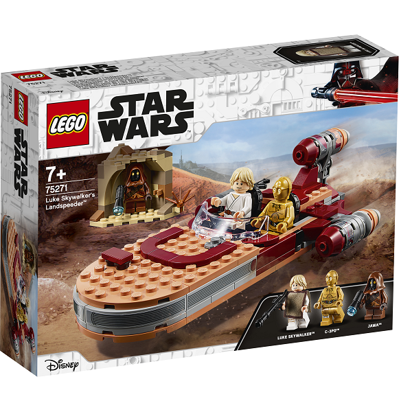 Image of   Luke Skywalkers landspeeder - 75271 - LEGO Star Wars